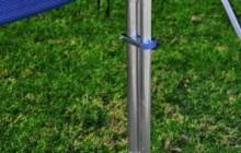 Turvavõrgupostide kinnitusklamber